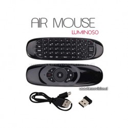 AIR MOUSE TECLADO LUMINOSO
