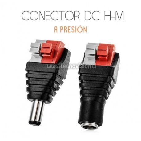 PACK 8 CONECTORES DC A PRESIÓN