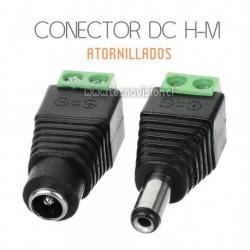 PACK 8 CONECTORES DC ATORNILLADOS