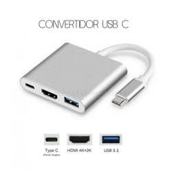 CONVERTIDOR USB C MACBOOK