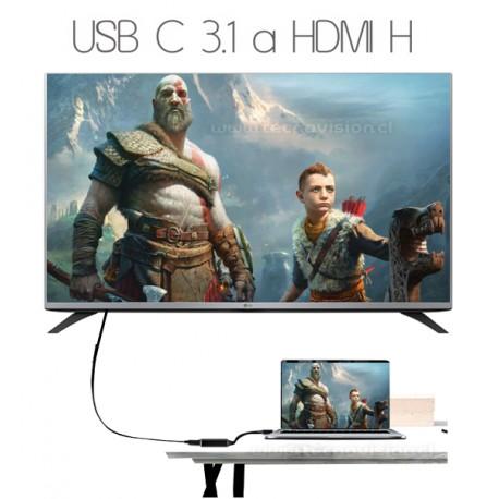 USB C 3.1 a HDMI  MACBOOK NEW