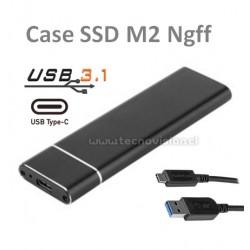 CASE SSD M2 USB 3.1 a Type C