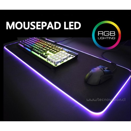 MOUSE PAD LED RGB