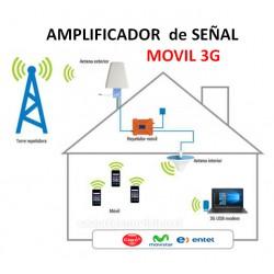 AMPIFLICADOR  de SEÑAL MOVIL 3G