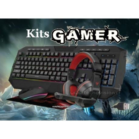 KIT GAMER RGB