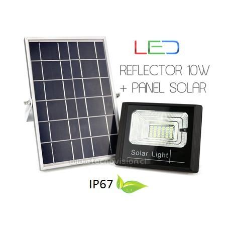 REFLECTOR NANO LED 10W + PANEL SOLAR