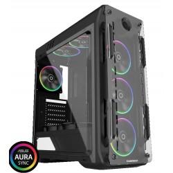 GABINETE GAMER RGB Optical G510 BK