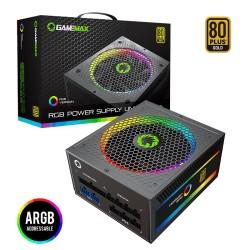 FUENTE GAMER RGB 550W CERTIFICADA
