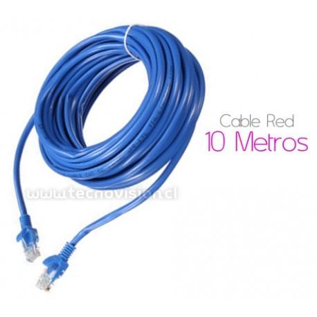 CABLE de RED 10 Metros