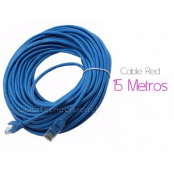 CABLE de RED 15 Metros