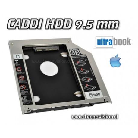 CADDY HDD 9.5 mm para ULTRABOOK