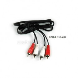 CABLE RCA AUDIO 2X2